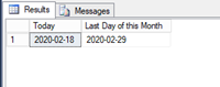 To Get Last Day 0f Previous Month In SQL Using EOMONTH()