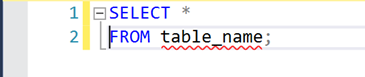 SQL SELECT All syntax