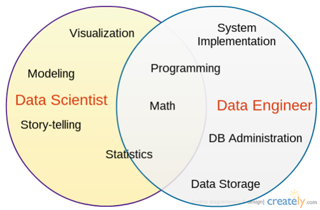 Data Scientist vs Data Engineer